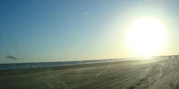 Dia lindo de Sol na Praia do Cassino