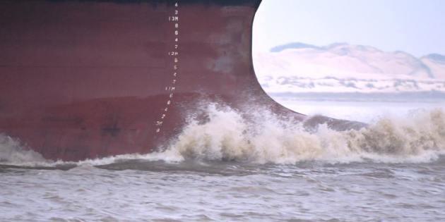 Navio Chegando em Rio Grande