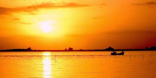 Nascer do Sol em Rio Grande
