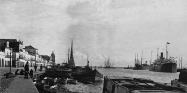 Porto de Rio grande 1910