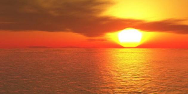 nascer do sol no cassino