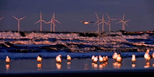 noite na praia do cassino