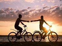 Bicicletas na Praia do Cassino