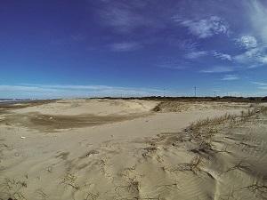 dunas na praia do cassino