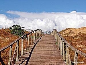 Passarela Ecológica na Praia do Cassino