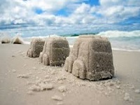 Transito na praia do cassino