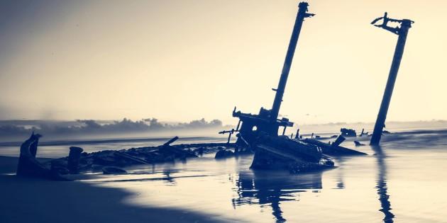 foto do navio altair