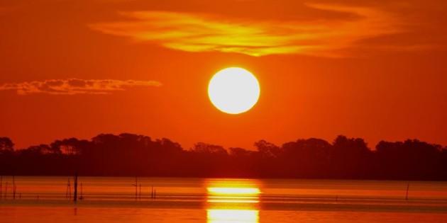 Lindissimo Por do Sol da super Rio Grande