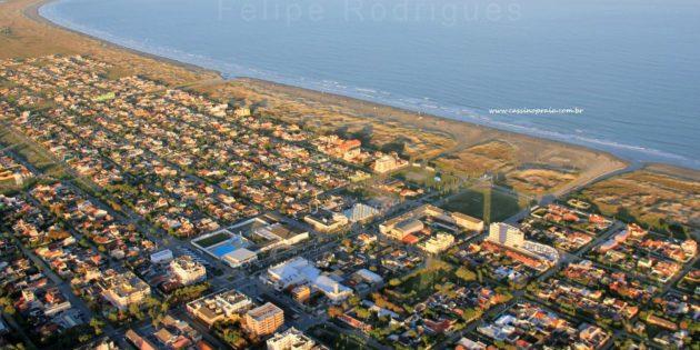 Vista Aérea Praia do Cassino