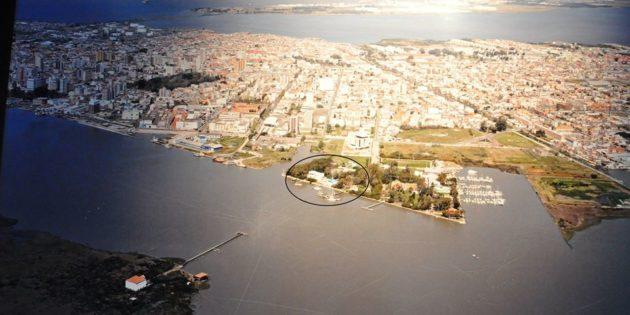 vista aérea rio grande, barra, praia do cassino