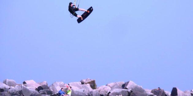 Kait Surf na Praia do Cassino