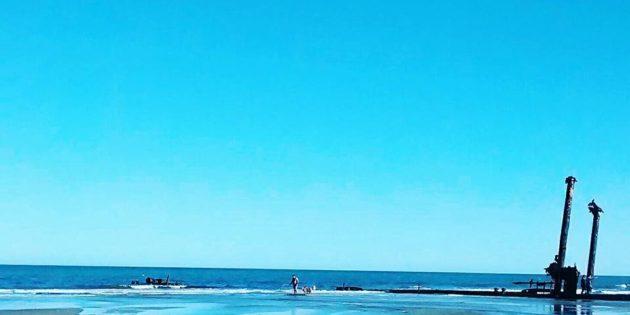 Navio Altair Hoje em Praia do Cassino