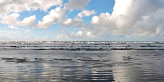 Manhã de 30 de maio 2017 na praia do cassino