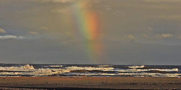 Atrás do Arco Iris em Praia do Cassino