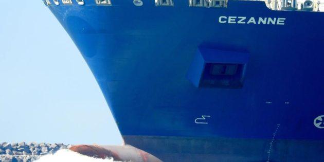 Navio Molhes da Barra