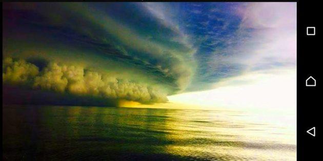 Tempestade se Aproximando