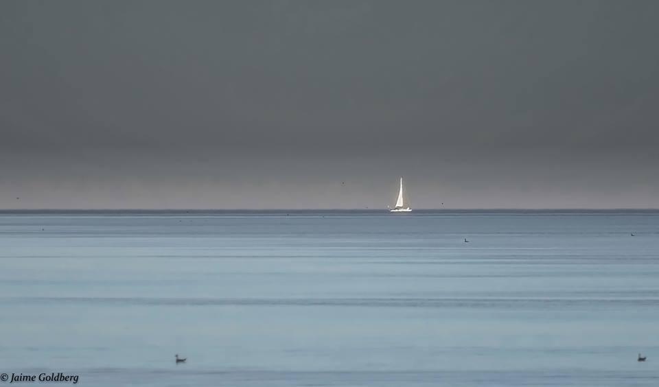 Tranqulidade de um Oceano Azul