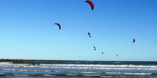 Kite Surf Molhes e Praia Cassino