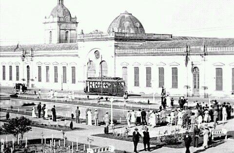 Praça Xavier Ferreira Rio Grande Seculo Passado